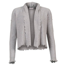 Load image into Gallery viewer, Mejse - Dove grey cashmere cardigan
