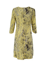 Load image into Gallery viewer, Gina dress, yellow spotted print