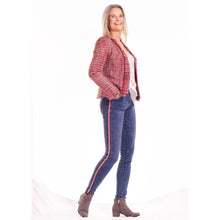 Load image into Gallery viewer, Myra jacket - Red check