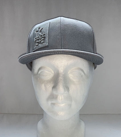 <b>NEW!</b> 300 pce limited edition gray snapback cap