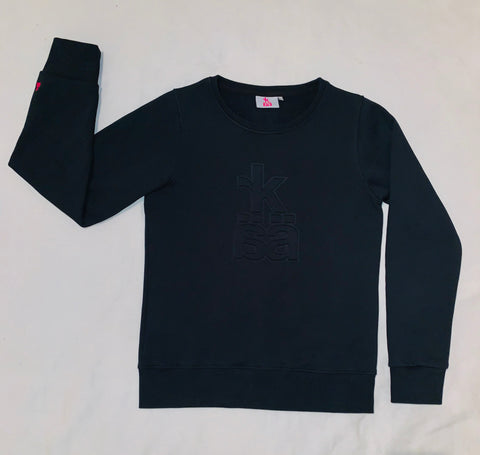 NEW! 50 pce embossed sweatshirt for ladies
