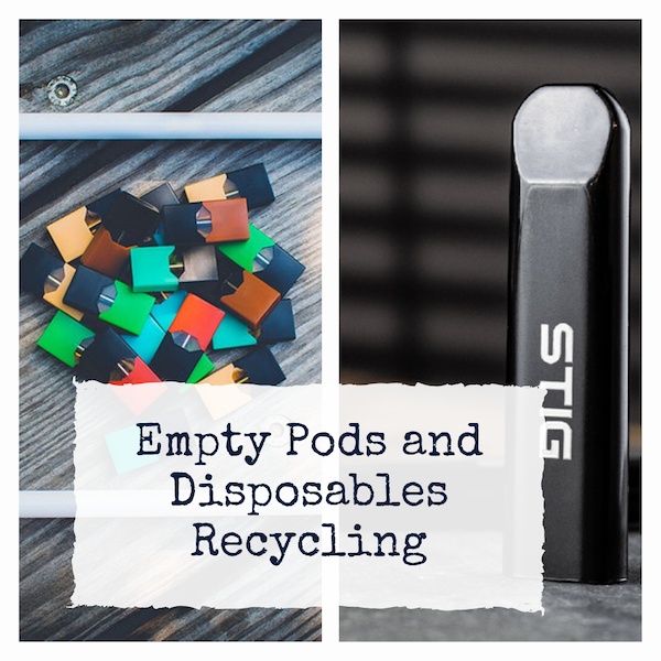 Empty Pods and Disposables Recycling Bag