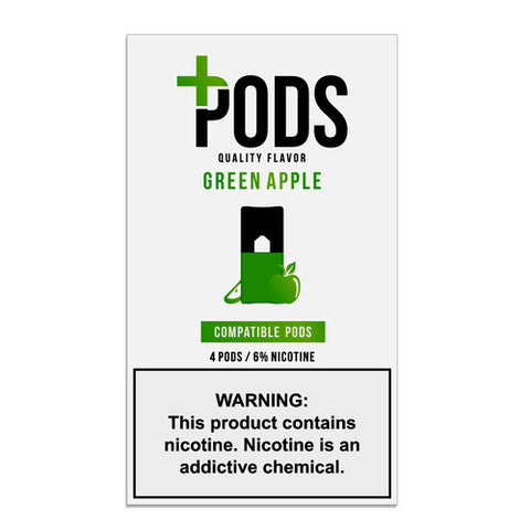 Plus Pods Green Apple 6% JUUL® Compatible