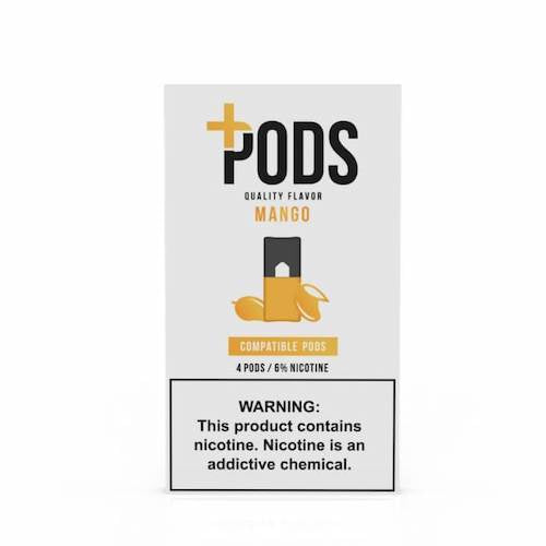 Plus Pods Mango 6% JUUL® Compatible 5 Pack