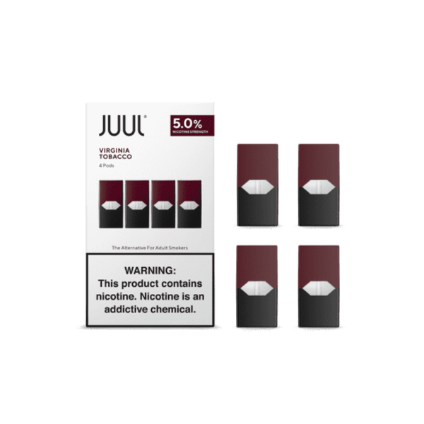 juul labs virginia tobacco 5 percent autopods