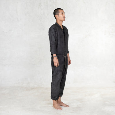 black adult jumpsuit