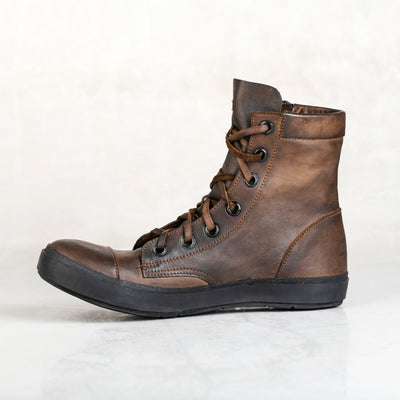 Banded Boot - Walnut