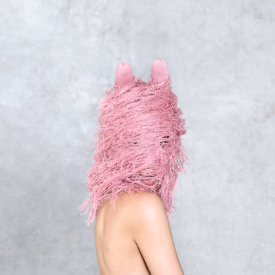 Rambut Balaclava - Dusty Rose
