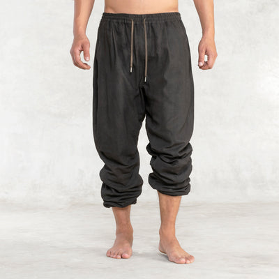 men's linen loose pants