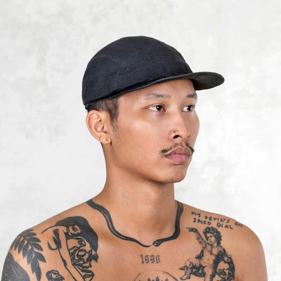 Dad Hat Linen - Black