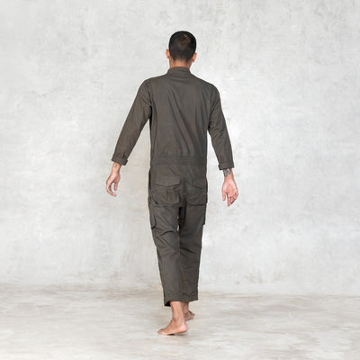 olive jumpsuit men