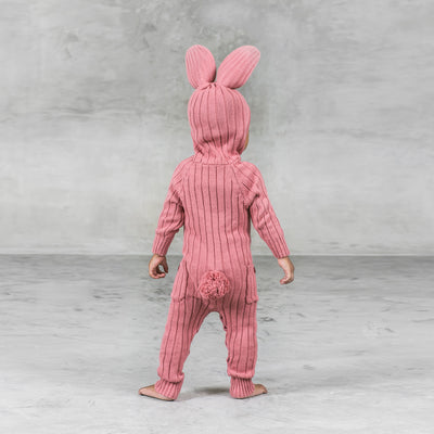 Baby Bunny Suit - Pink