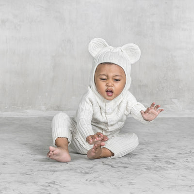 baby polar bear suit