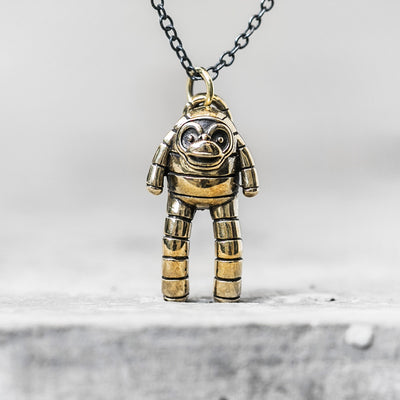 Brass Monkey Pendant