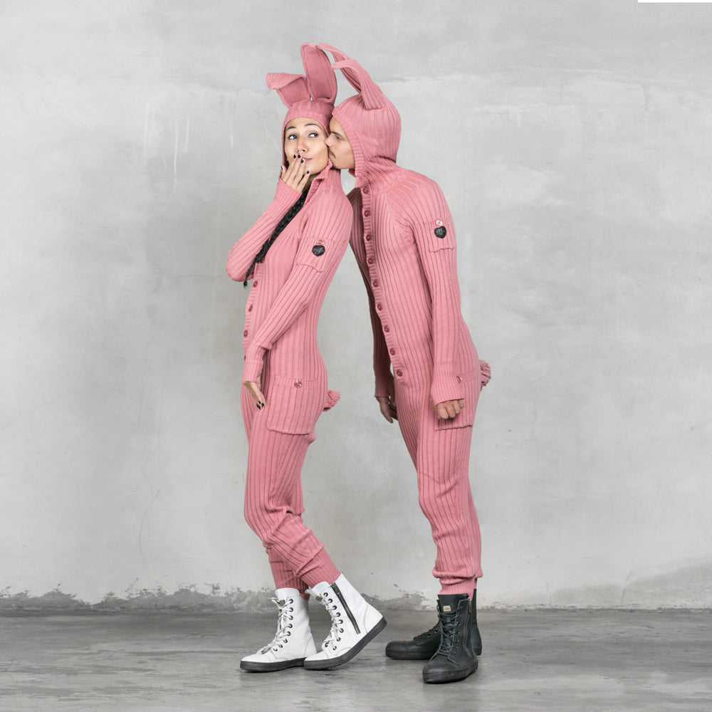 Pink Bunny Suit