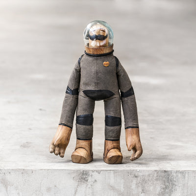 Spaceman Toy Art