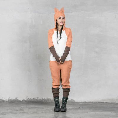 Fox Onesie - Orange