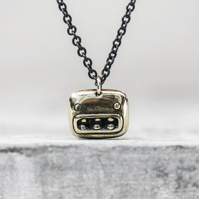 Monster Brass Pendant