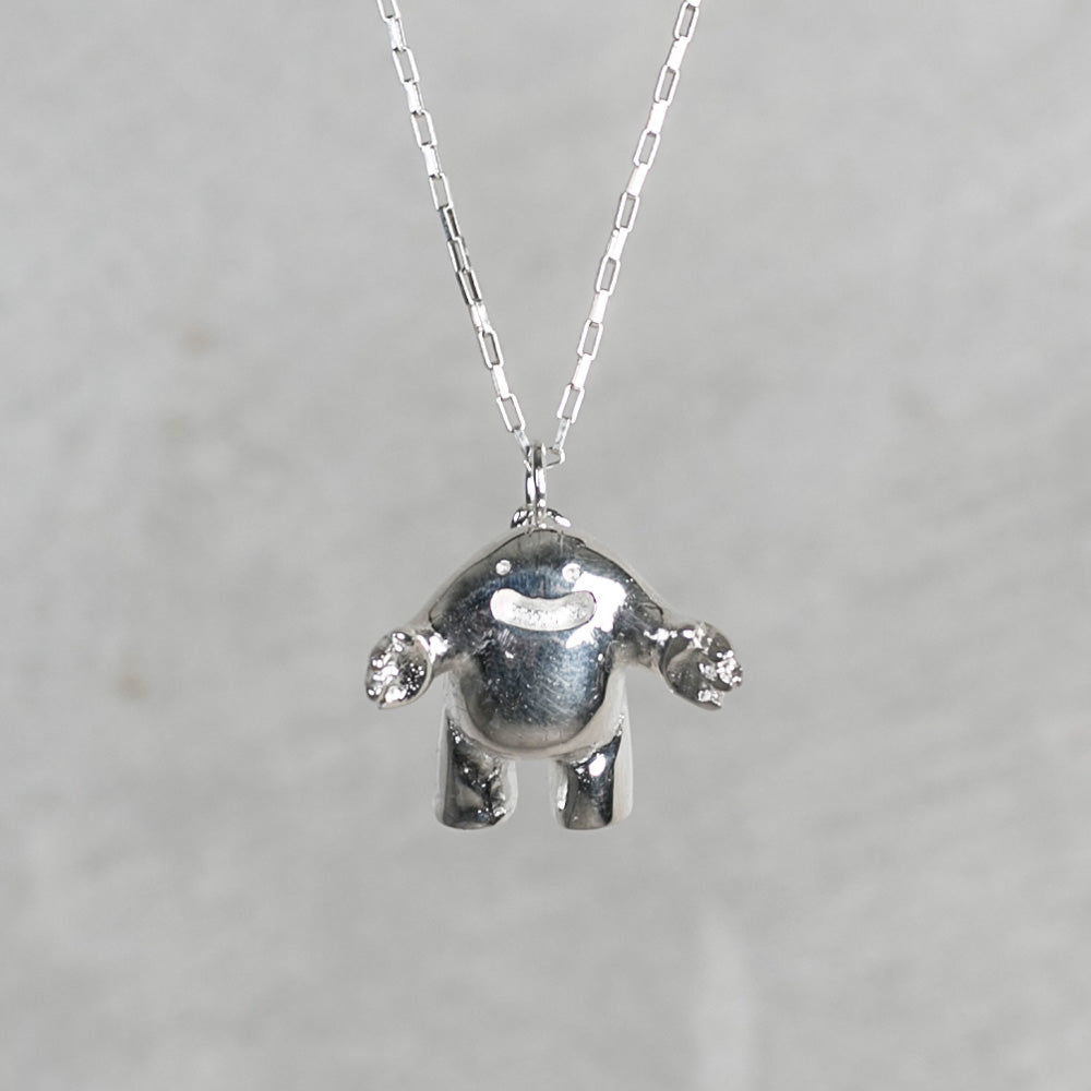 hug charm necklace