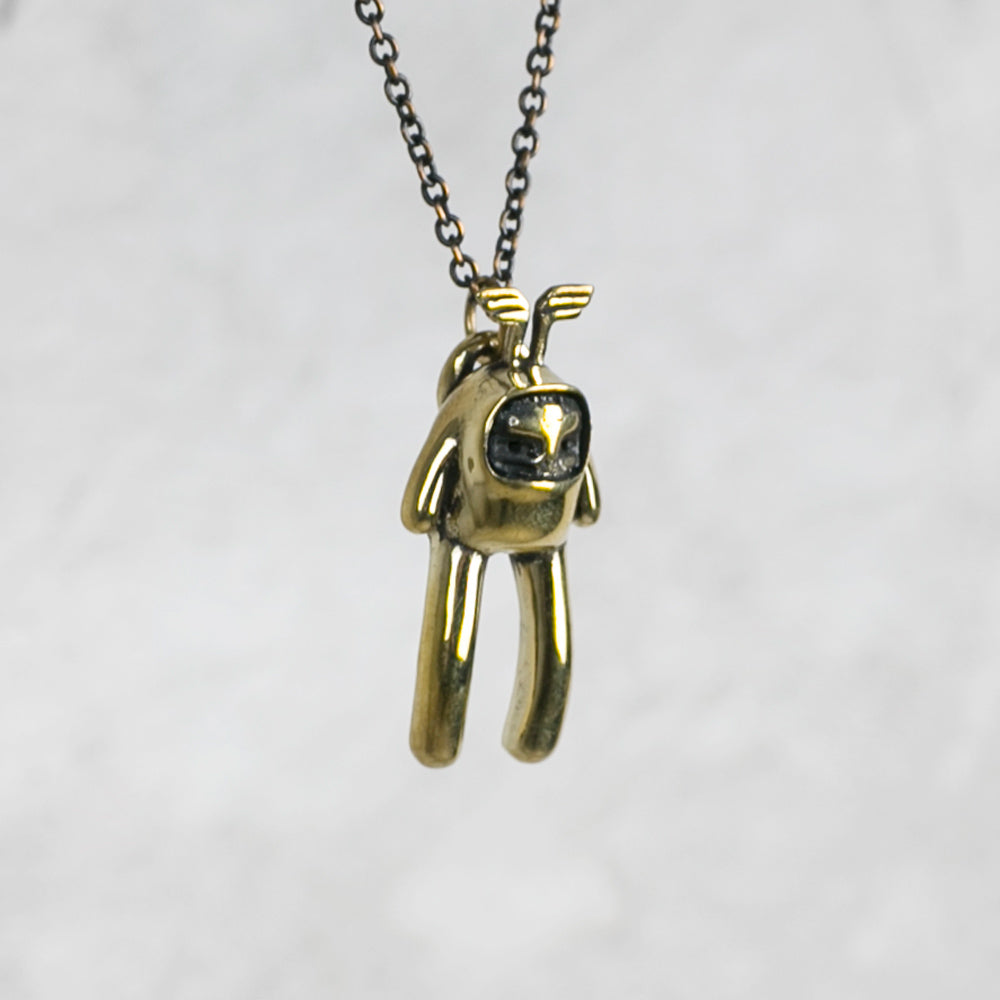 flying monkey necklace