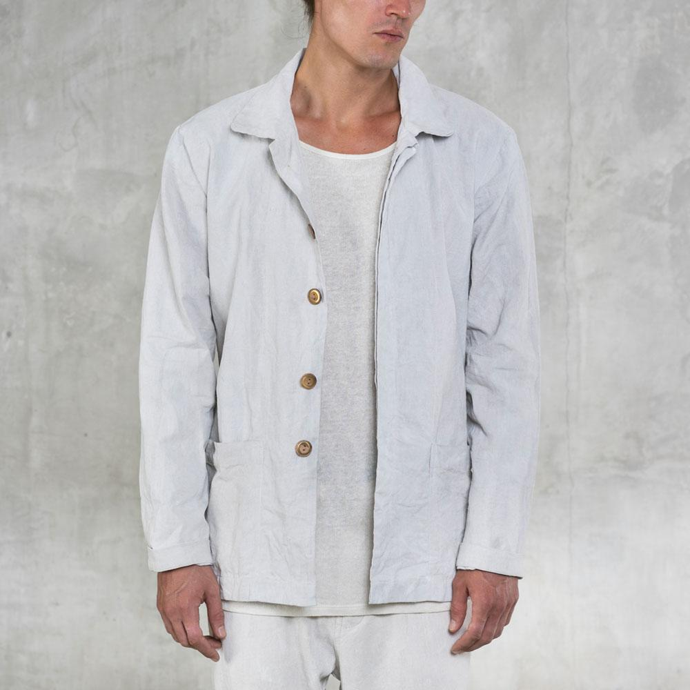 Rove Shirt Jacket - Bone