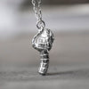 Bandit Silver Necklace