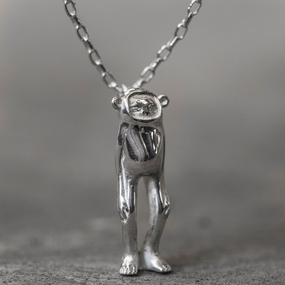 Minky Silver Necklace