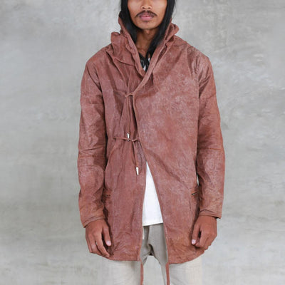 Spate Waxed Jacket - Copper
