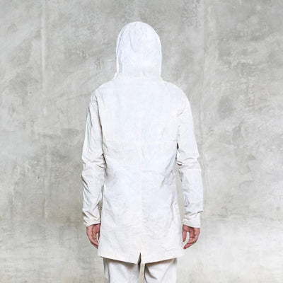 Spate Waxed Jacket - Bone