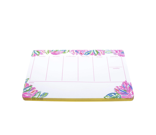 Lilly Pullitzer Weekly Desk Pad - Gigi's & Doc's