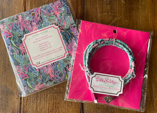 Lilly Pulitzer Charging Cord