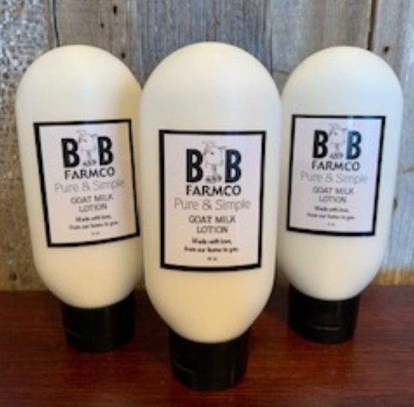 B&B Pure and Simple Goat Milk Lotion