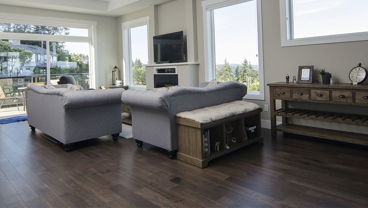 LUXURY VINYL FLOORING (NOT WHAT YOU THINK)