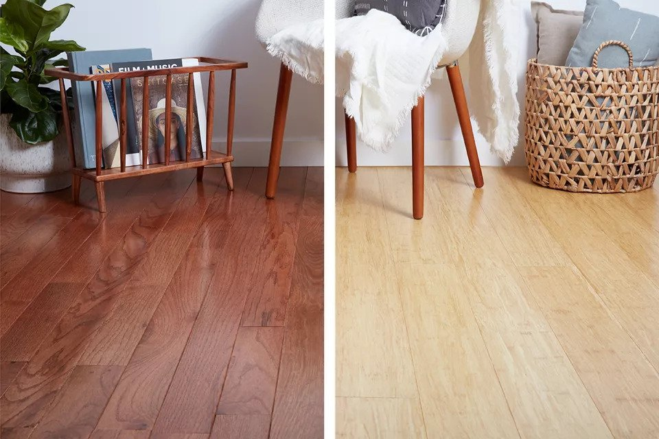 Bamboo vs. Wood Flooring: A Comparison