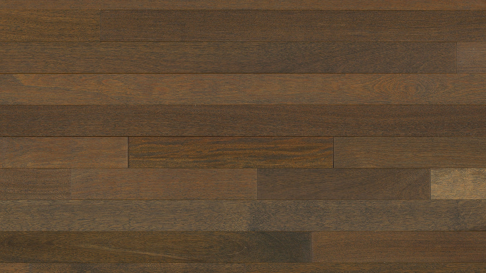 Hardwood BRAZILIAN CHESTNUT WIREBRUSH WHISKEY BARREL BCH343WB1555 TEXTURED FLOORING