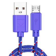 Load image into Gallery viewer, Micro USB Cable 1M 2M 3M Fast Charging Data Cord For Samsung S7