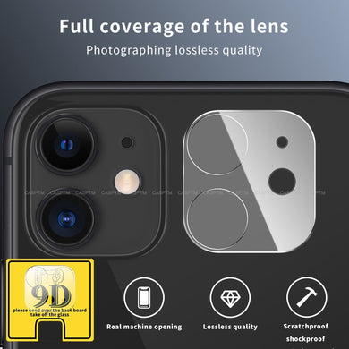 9D Full Camera lens Tempered Glass For iPhone 11 Pro
