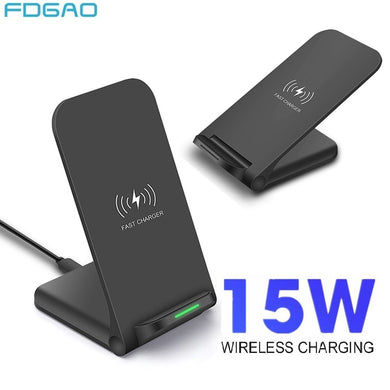 Wireless Charger Quick Charge Dock For Samsung S10 S20 Fast Charging Stand Pad For iPhone SE2 11 Pro XS Max XR X 8