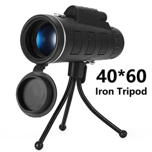Lens for phone 40X60 Zoom for Smartphone Monocular Telescope