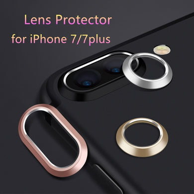Circle Metal Lens Film Protector For Phone Camera