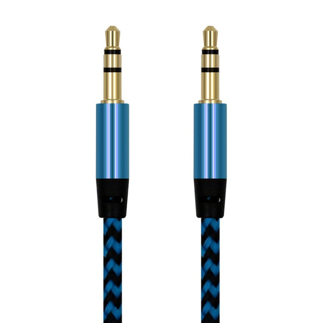 Nylon Universal Jack Audio Cable