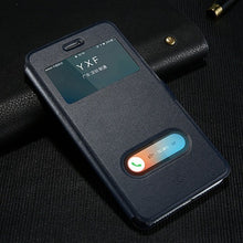 Load image into Gallery viewer, Magnetic Flip Leather Case For iPhone