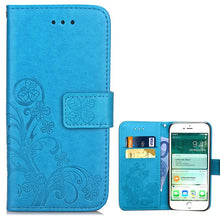 Load image into Gallery viewer, Luxury Leather Flip Case For iPhone