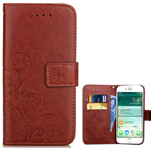 Luxury Leather Flip Case For iPhone