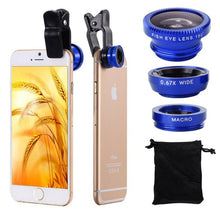 Load image into Gallery viewer, Mobile Phone Lens 3 in 1 Kit