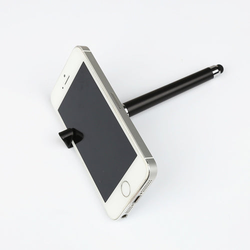 Multi-function Stylus + Ball Pen + Mobile Phone Stand