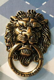 360 Degree Lion Metal Finger Ring Smartphone Holder