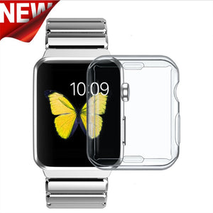 TPU Clear Slim Soft Case Cover for Apple Watch