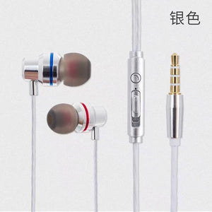 In-Ear Heavy Bass Stereo Earphone With Mic