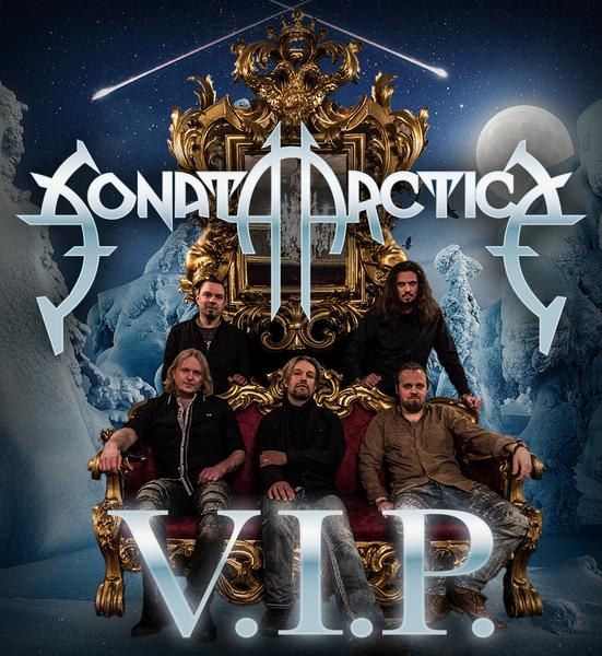 MEET & GREET 37 with SONATA ARCTICA - Saturday, 08.02.2020 FI- Hämeenlinna, Verkatehdas